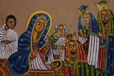 ethiopian orthodox art | Ten Thousand Places: Ethiopian Christmas
