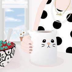 { goooood morning!!!! ☕️. - #goodmorning #bomdia #coffee #happyday #felicidade #poa