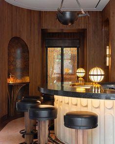 Susan Sullivan, Cafe Restaurant, Restaurant Design, Design Café, Interior Design, Club Design, Berkeley Hotel, Architecture Restaurant, Art Deco Bar