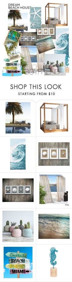"""""""beach house"""" by ercy ❤ liked on Polyvore featuring interior, interiors, interior design, home, home decor, interior decorating, MASH Studios, PBteen and Midwest of Cannon Falls"""