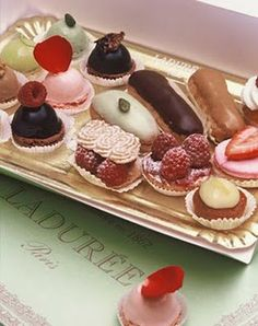 So many sweet treats!  Which to choose???
