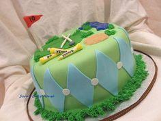 Golf Cake - by Sara's Cake House @ CakesDecor.com - cake decorating website