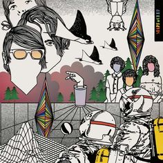 Starfucker (Album Artwork) by Starfucker. Pretty cool band, I like them.