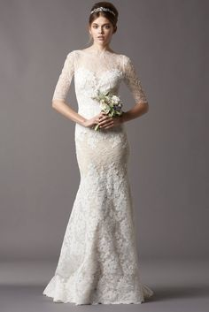 corded lace with a stretch silk charmeuse slip dress