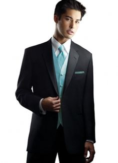Tux with Teal