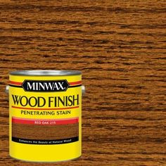 Minwax 1 qt. Wood Finish Red Oak Oil-Based Interior Stain-70040444 - The Home Depot