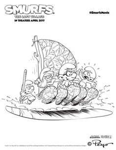 Top 11 Smurfs The Lost Village Coloring Pages
