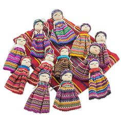 Diy Crafts For Gifts, Cute Crafts, Christmas Moose, Mexican Christmas, Christmas Pageant, Worry Dolls, Mexican Crafts, Quites, Recycled Crafts
