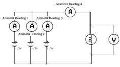18 best physics materials images on pinterest physical science physics circuit equations electrical circuit diagram showing how to connect three 1 5 volt batteries in