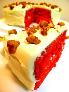 the southern belle: red velvet cake Recipe