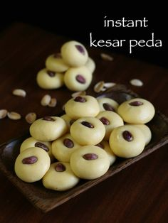 instant kesar peda recipe, kesar milk peda with milkmaid with step by step photo/video. traditional indian milk based fudge similar to mawa peda, khoya peda