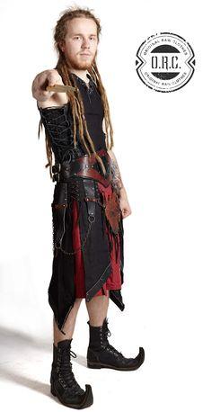 Irdorath concert outfit. #irdorath #fantasyfolk #concertcostumes #dreamcatcher #concertoutfits #orcfashion #Orc_Fashion #uniqueaparel #gothic #handmade