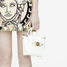 White mini Signature bag