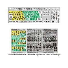 Computer Keyboard Stickers