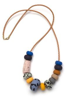 EMILY GREEN   WILLOW BIG BEAD NECKLACE