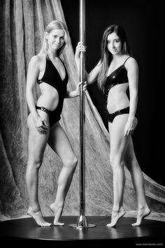 Prague June 2014 – Shooting a Pole Dance Calendar with Candi and Violette Pink