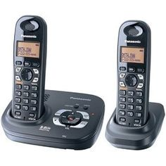 Panasonic 5.8 GHZ Expandable Digital Cordless Answering System - Dual Handset System (KX-TG4322B) Review