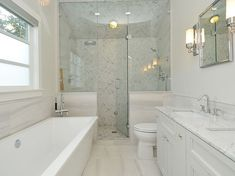 Small Master Bath Design, Pictures, Remodel, Decor And Ideas   Page 14 We  Might Have To Do Something Similar?