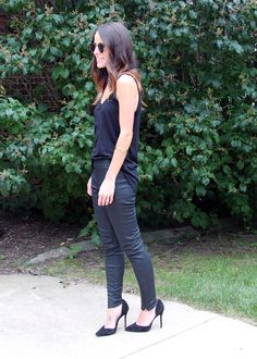 #Express leather leggings as featured on the blog GLAMBAMxo.  GET THEM HERE: http://www.express.com/clothing/Women/Leggings/cat/cat290004?CID=4016