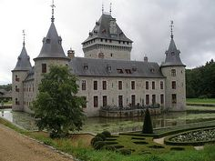 Belgium -Jemeppe Castle was built in 1270 by a Jean d'Ochain.