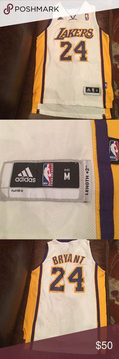 NBA Los Angeles Lakers Kobe Bryant Youth Jersey NBA Los Angeles Lakers Kobe Bryant Swingman Alternate Jersey Youth M by Adidas Adidas Shirts & Tops