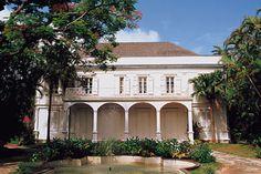 maison créole de Saint-Paul, Ile de la Réunion, Outre-Mer