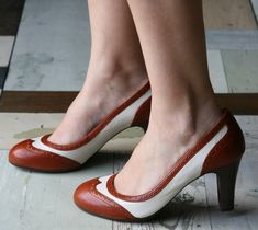 O so chic and easy to wear---bold wingtips