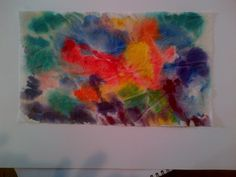 Abstract Water Color VI