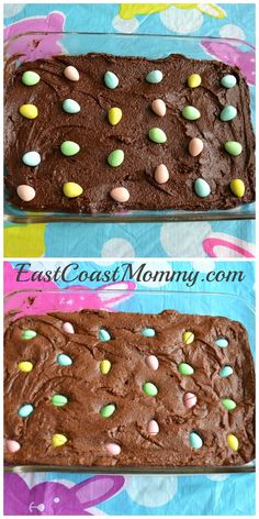 Brownies and mini eggs... a delicious combination!