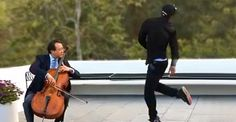 Yo-Yo Ma And Lil Buck Do An Amazing Duet :) Mesmerizing dance to stunning cello