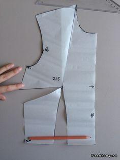 DIY Идеальная выкройка своими руками