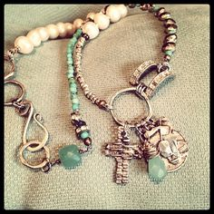 Learn to make this beautiful jewelry www.terribrushdesigns.com