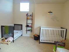 Hints on shared toddler infant room