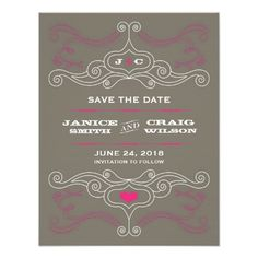 This DealsRock 'n' Roll Poster (Pink / Pewter) Save the Date Custom Announcementin each seller & make purchase online for cheap. Choose the best price and best promotion as you thing Secure Checkout you can trust Buy best