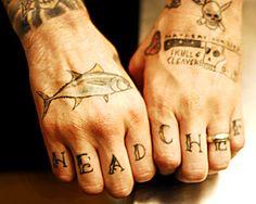 Head Chef tattoo #foodtattoos