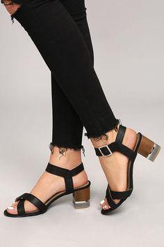 #AdoreWe #Lulus Lulus❤️Designer Womens Blaire Black High Heel Sandals - AdoreWe.com