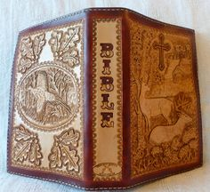 leather bible cover - Bing Images