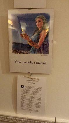 Vedo, prevedo, stravedo.  https://www.facebook.com/cristina.colesanti