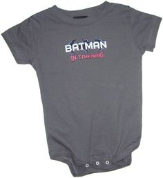 """""""Batman In Training"""" Infant Onesie Snapsuit, 6 Months has been published on http://www.discounted-baby-apparel.com/2012/06/08/batman-in-training-infant-onesie-snapsuit-6-months/"""