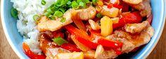 Wpis na blogu Chili, Food And Drink, Pork, Ethnic Recipes, Sweet, Blog, Pineapple, Pork Roulade, Chili Powder