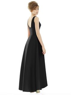 Alfred Sung Style D698 http://www.dessy.com/dresses/bridesmaid/D698/?color=black&colorid=123#.VLNGGmK9KSM