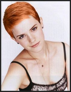Pixie Haircut and especially the color!!