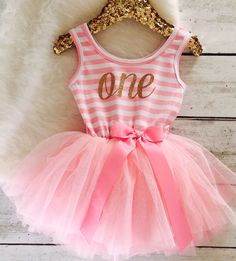 darling one year old birthday outfit