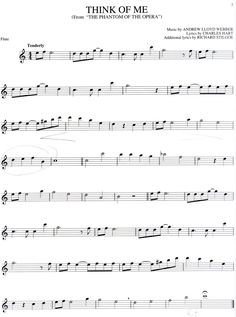 Free online flute sheet music. I may not play the flute but I will convert it to play on the clarinet :)