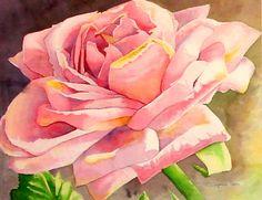 Watercolor Flower 4 by faegirlmara.deviantart.com on @DeviantArt