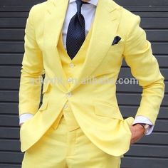 Source yellow wedding suit men's blazer tailored male tuxedo woolen fashion man suits on m.alibaba.com