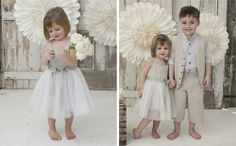 Country Barefoot Flower Girl & Paige Boy