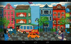 Plasticine town #livewallpaper released on #Android