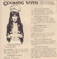 Cooking With Elvira