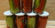 Pickles, Cucumber, Stuffed Peppers, Vegetables, Cooking, Tableware, Kitchen, Food, Outdoor